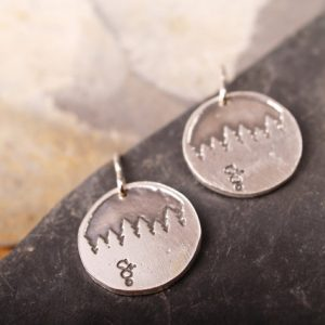 Forest Skyline Earrings