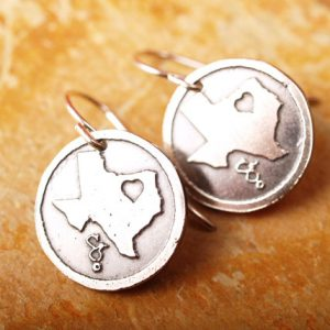 Texas Love Earrings