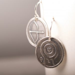 Archery Love Earrings